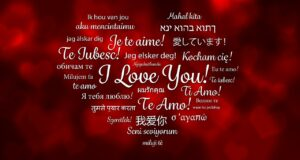 How to Say I Love You Around the World