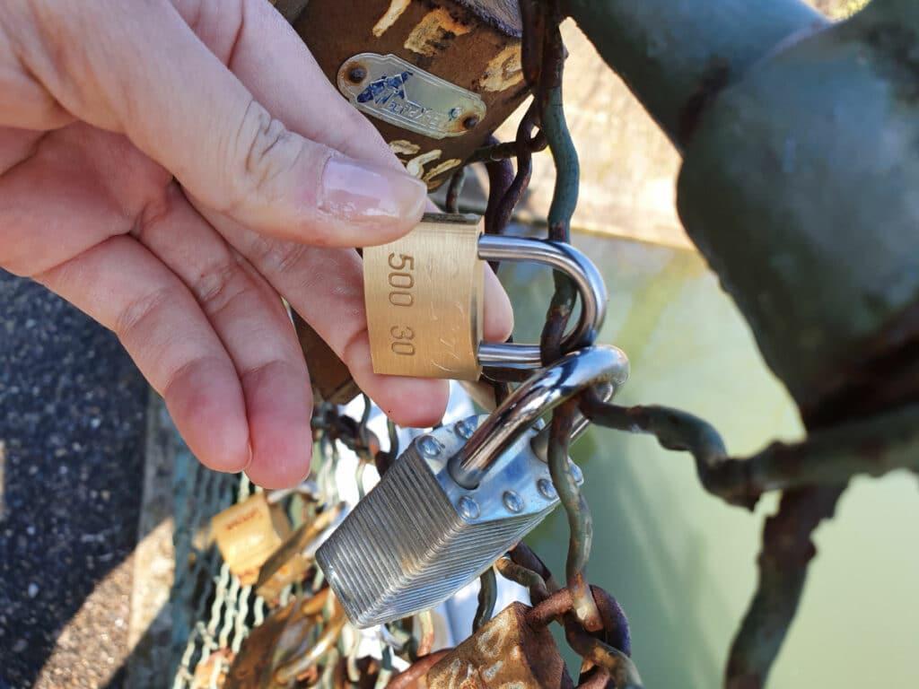 Romanian Love Lock Bridge