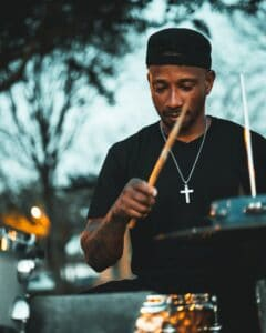 Seeking Out Street Performers Musicians