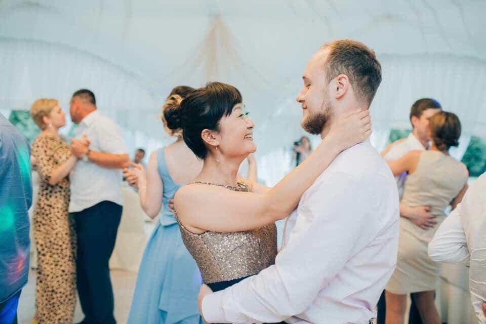 Slow Dancing Couple