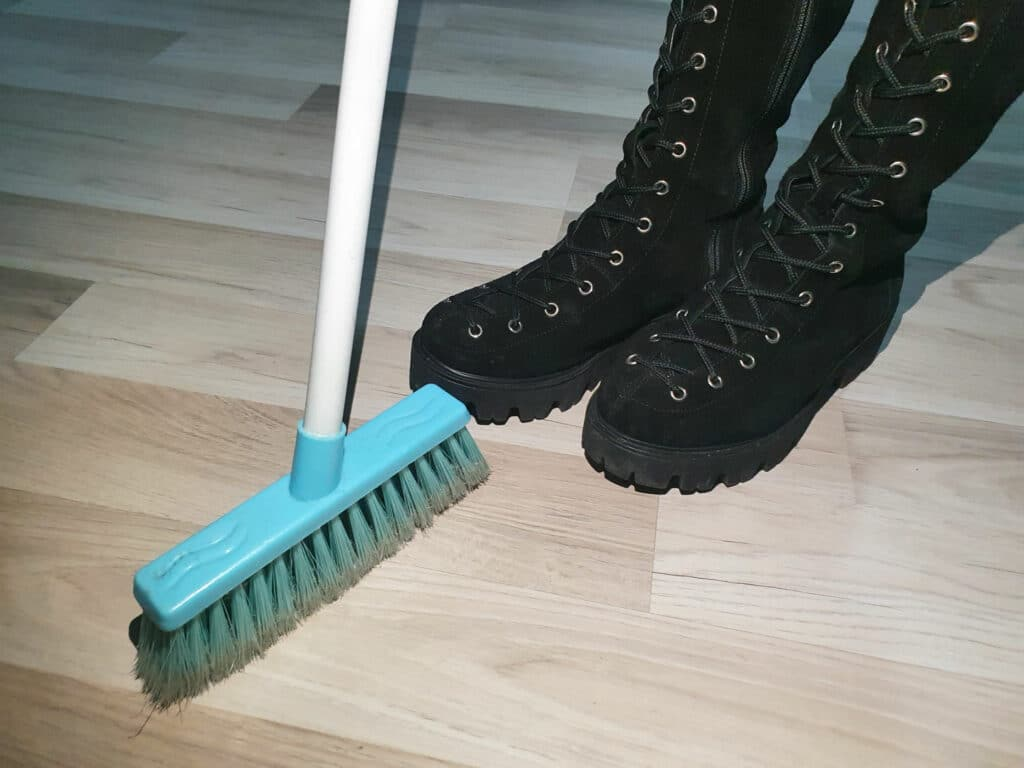 Sweeping the Floor Romanian Superstition