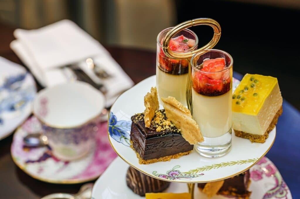 Tea and English Pastries