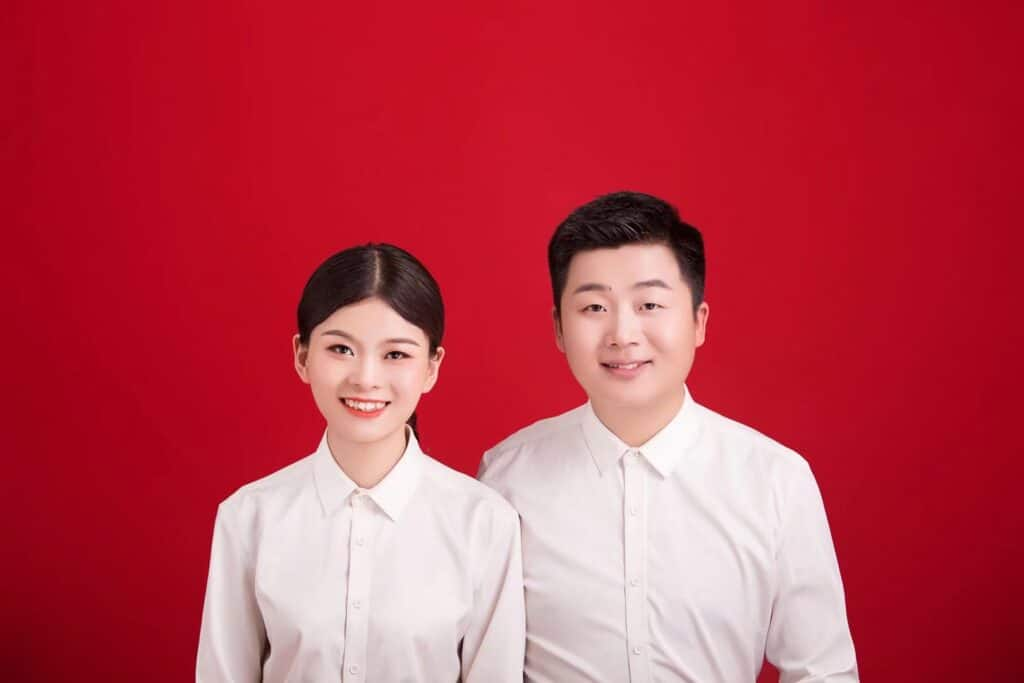 Chinese Legal Photograph for Marriage Certificate