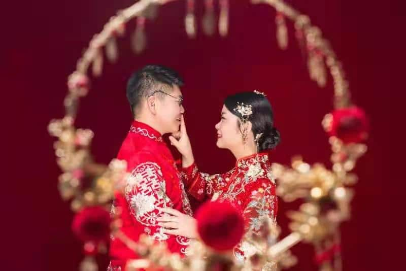 Good Luck and Happiness in Traditional Chinese Attire