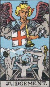 Judgement Rider-Waite Tarot Card
