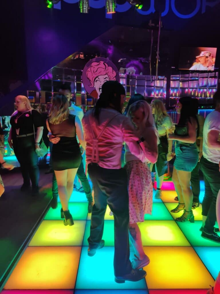 Partying on the Dance Floor