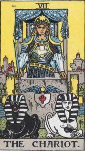 The Chariot Rider-Waite Tarot Card