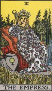 The Empress Rider-Waite Tarot Card