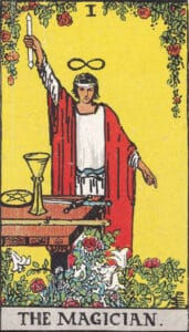 The Magician Rider-Waite Tarot Card