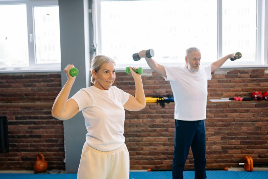 Working Out Together as a Couple Benefits Health
