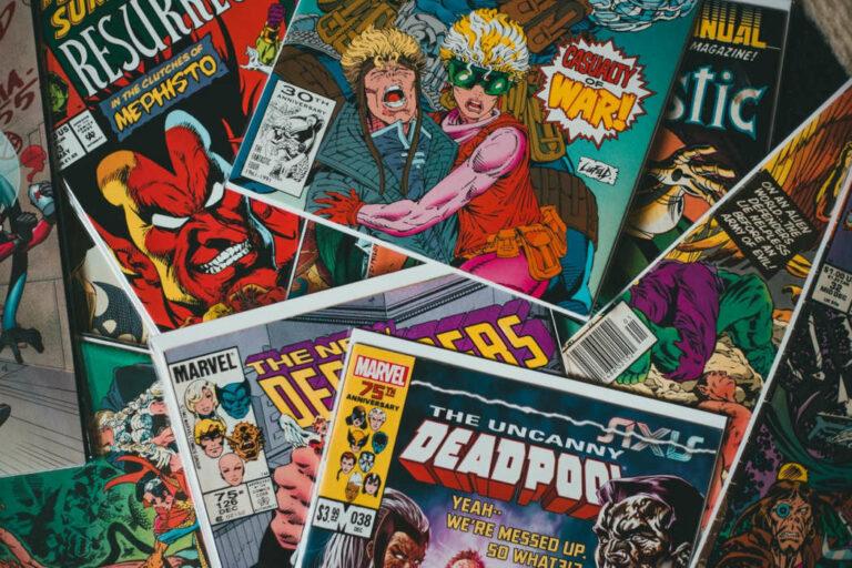 Nerdy Date Night Comic Books